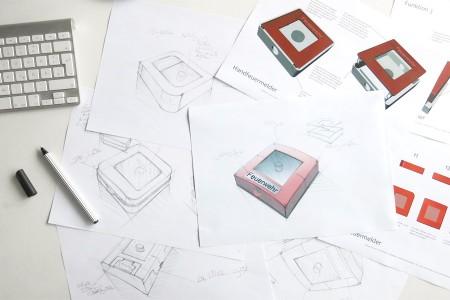 Brandmelder, MEP Gefahrentechnik, Produktdesign, Studio Hartensteiner, Designbüro Leipzig
