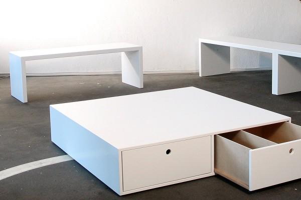 Ausstellungsmöbel, Galerie Leuenroth Studio Hartensteiner, Designbüro Leipzig