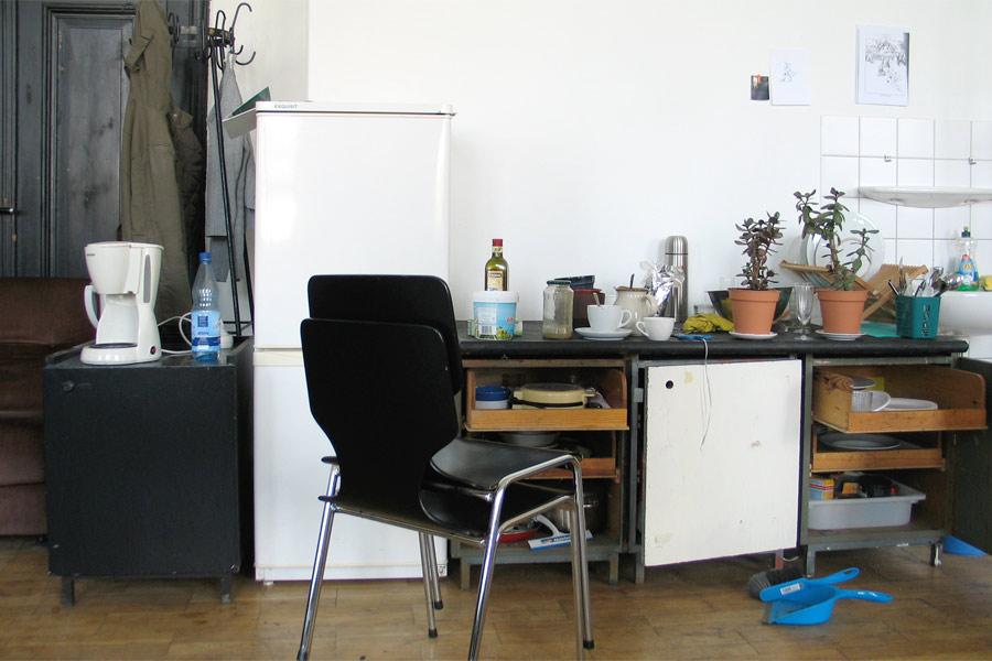 Studioküche, Küche, HGB, Studio Hartensteiner, Designbüro Leipzig