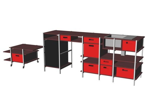 Studioküche küche hgb studio hartensteiner designbüro leipzig