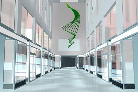 Messehofpassage, Kunst am Bau, Raumgestaltung, Objektgestaltung, Studio Hartensteiner, Designbüro Leipzig