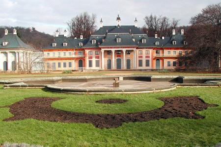 Empfangsarchitektur, Schloss Pillnitz, Raumgestaltung, Objektgestaltung, Studio Hartensteiner, Designbüro Leipzig