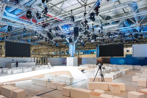 BMWi, BMW Werk, Nachhaltigkeit, Elektromobilität, Veranstaltungsgestaltung, event. lab, Studio Hartensteiner, Designbüro Leipzig