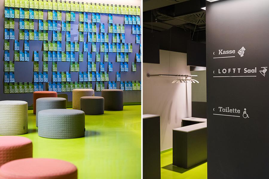 Theater der Jungen Welt, Foyer,, studio Hartensteiner, Produktdesign, Designbüro Leipzig