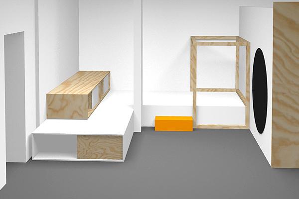 Frauensache, Fitnessclub, Raumkonzept, studio Hartensteiner, Designbüro Leipzig