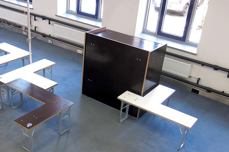 Klappt, Bar, Freisitz, Biertischgarnitur, Studio Hartensteiner, Designbüro Leipzig