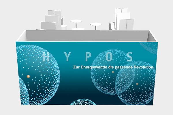 HYPOS, Messestand, enertec, studio Hartensteiner, Produktdesign, Designbüro Leipzig