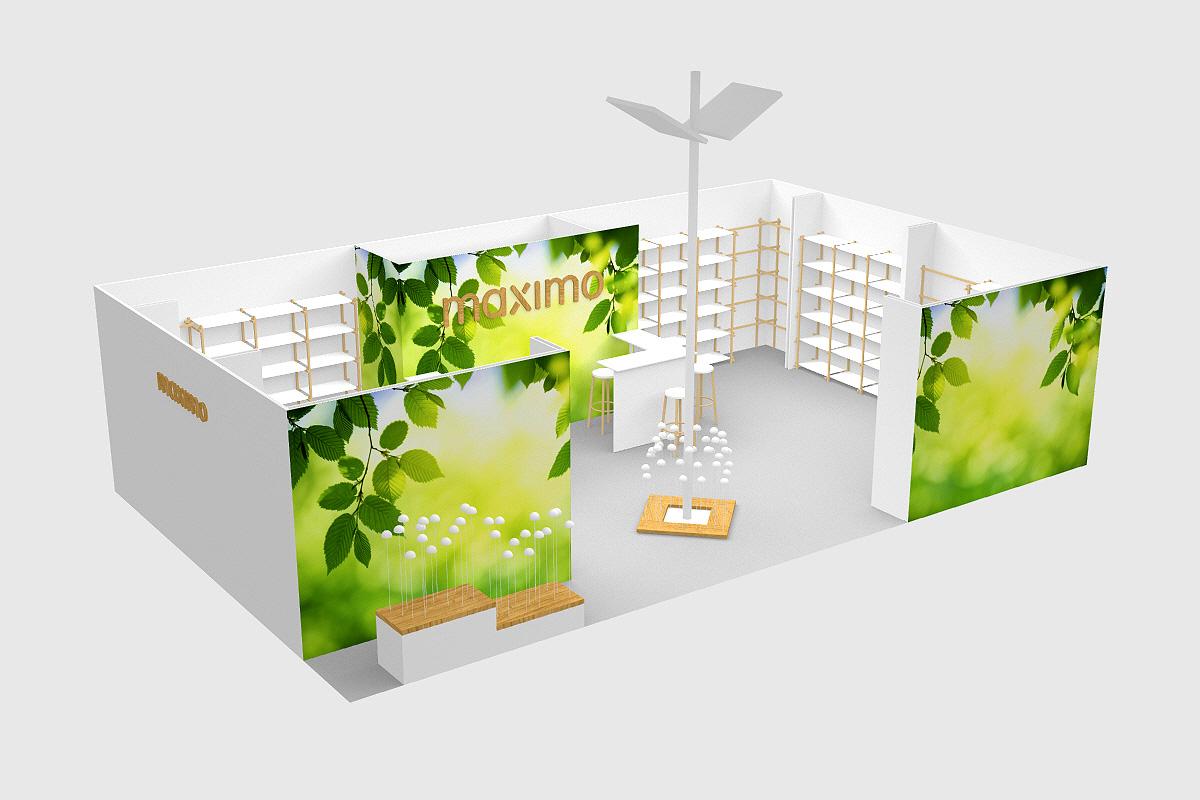 maximo, Messestand, cookies show, studio Hartensteiner, Produktdesign, Designbüro Leipzig