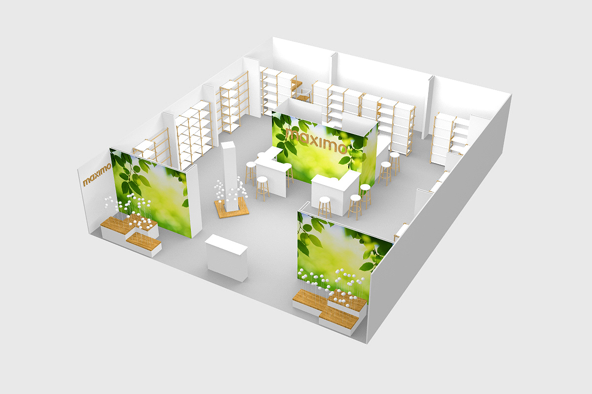 maximo, Messestand, pitti bimbo, studio Hartensteiner, Produktdesign, Designbüro Leipzig