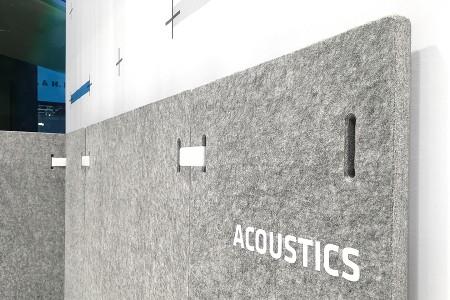 Sysboard, Akustik, Absorber, flexibel, leicht
