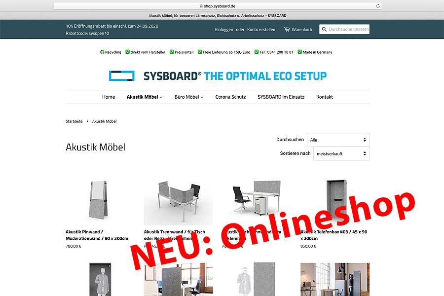 Sysboard Onlineshop